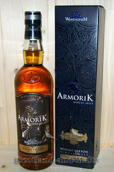 Armorik Millesime 2002 Cask No 3300 - single Malt Whisky aus Frankreich