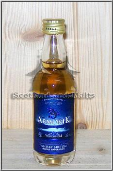 Armorik Double Maturation Miniatur - single Malt Whisky aus Frankreich