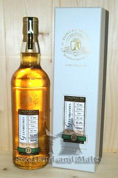 Glenrothes 1992 - 21 Jahre Cask No: 31871 mit 53,3% - Duncan Taylor New Dimension