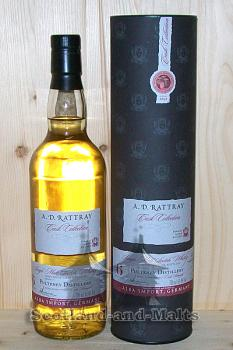 Pulteney 2007 - 6 Jahre Bourbon Barrel No. 700744 mit 61,4% - single Malt scotch Whisky von A. D. Rattray