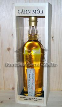 Auchentoshan 1989 - 24 Jahre Hogshead No. 4905 mit 54,1% - Carn Mor Celebration of the Cask