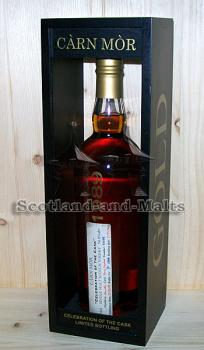 "Glenrothes 1989 - 24 Jahre Sherry Hogshead No. 11192 mit 54,8% - Carn Mor ""Black and Gold"" Celebration of the Cask"
