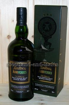 Ardbeg Auriverdes - Islay single Malt scotch Whisky