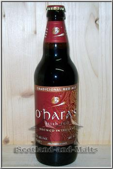 Irish Red 4,3% - oHaras Irish Red brewed in Ireland