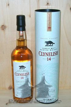 Clynelish 14 Jahre Single Malt scotch Whisky - 200ml Flasche