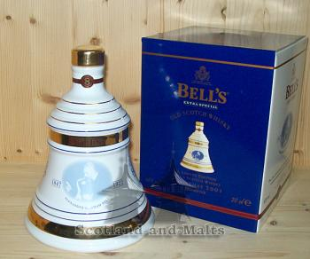 Bells Decanter Chritmas 2001 - Limited Edition - scotch Whisky