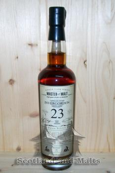 Invergordon 1991 - 23 Jahre refill Sherry Hogshead 52,8% - Master of Malt Single Cask Bottlings