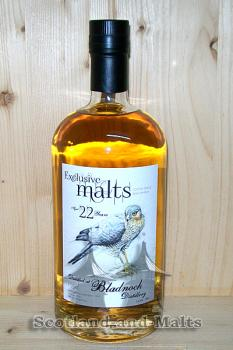Bladnoch 1992 - 22 Jahre mit 53,3% - Bourbon Cask No 4270 - Exclusive Malts Creative Whisky