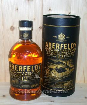 Aberfeldy 12 Jahre single Malt scotch Whisky