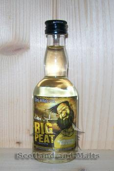 Big Peat - small Batch - Islay Blended Malt Whisky Douglas Laing - Miniatur