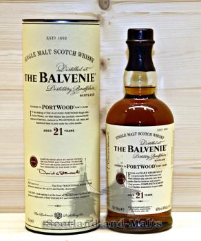 Balvenie 21 Jahre - Port Wood / Sample ab