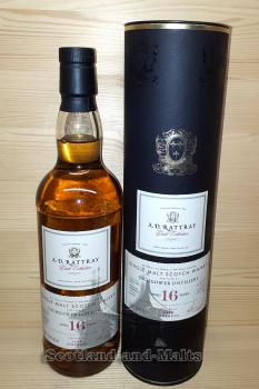 Inchgower 2001 - 16 Jahre Bourbon Hogshead No. 303696 mit 56,4% - A.D.Rattray