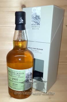 Benrinnes 1997 / 2017 - A Liquorice Potion - 20 Jahre Bourbon Barrel mit 46,0 % von Wemyss Malts - single Malt scotch Whisky