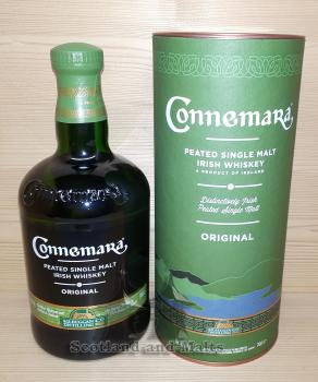 Connemara Original mit 40,0% - peated single Malt irish Whiskey