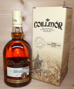 Coillmor 2007 - 5 Jahre Peat Sherry Single Cask No. 80 mit 46,0% - Whisky Destillerie Liebel