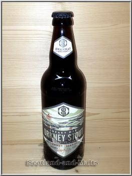 Snaky Wee Orkney Stout mit 4,2% - The Swannay Brewery - Bier aus Schottland
