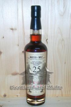 Aultmore 1990 - 25 Jahre Dark Sherry Butt 57,5% - Master of Malt Single Cask Bottlings / Sample ab