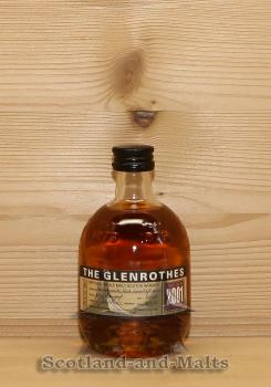 Glenrothes 2001 - 11 Jahre Speyside Single Malt Scotch Whisky mit 43,0% in der 100ml Flasche