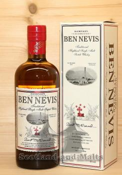 Ben Nevis MacDonald's Traditional Peated Highland single Malt scotch Whisky mit 46,0%