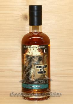 Tennessee Rye Whisky 4 Jahre Batch 3 mit 45,0% That Boutique-y Rye Company