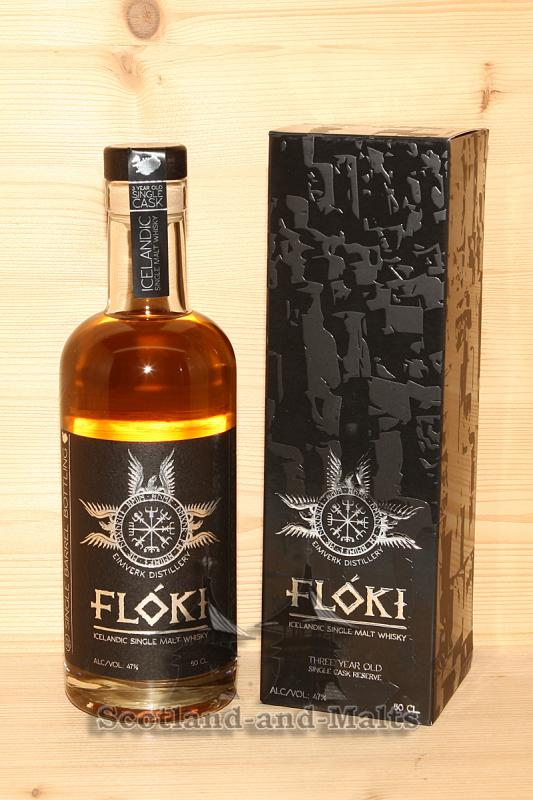 Floki Iceland single Malt Whisky Barrel 8 mit 47,0% aus der Eimverk Distillery in Island