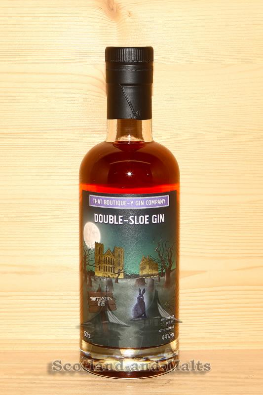 Double-Sloe Gin Whittaker´s Gin Batch 1 mit 44,0% von der That Boutique-y Gin Company