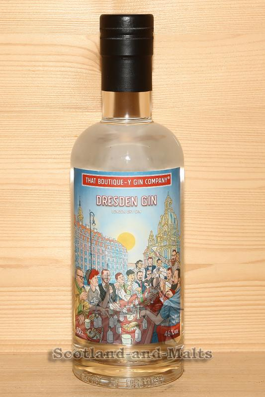 Dresden Gin Batch 1 - London Dry Gin mit 46,0% - That Boutique-y Gin Company