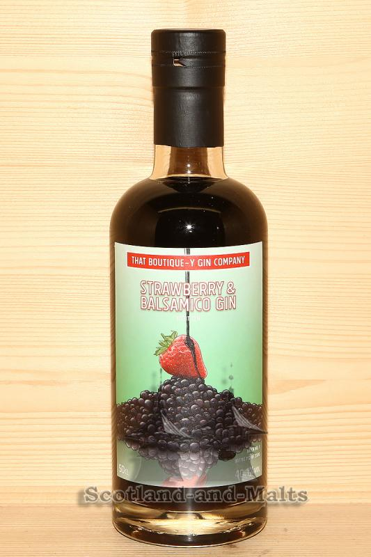 Strawberry & Balsamico Gin Batch 1- Dry Gin mit 46,0% - That Boutique-y Gin Company