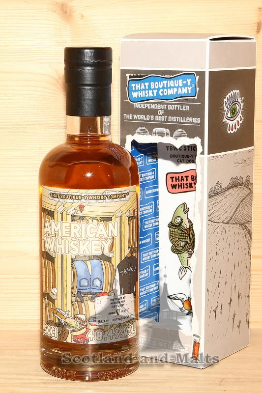Heaven Hill American Whiskey 9 Jahre Batch 1 mit 48,4% That Boutique-y Whisky Company