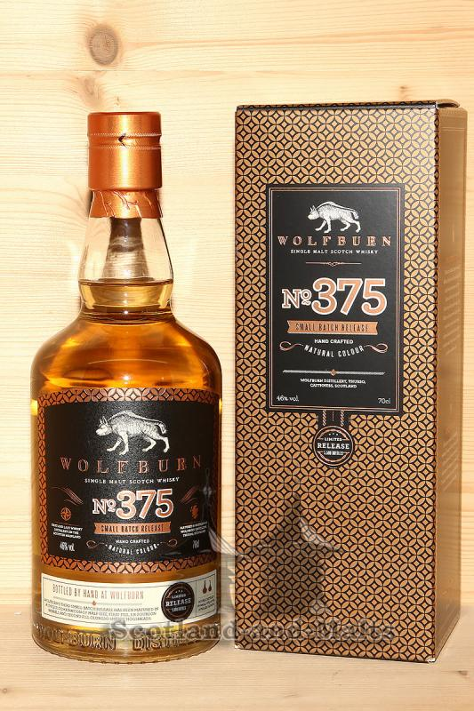WOLFBURN Batch 375 Limited Release - single Malt scotch Whisky - Wolfburn Distillery