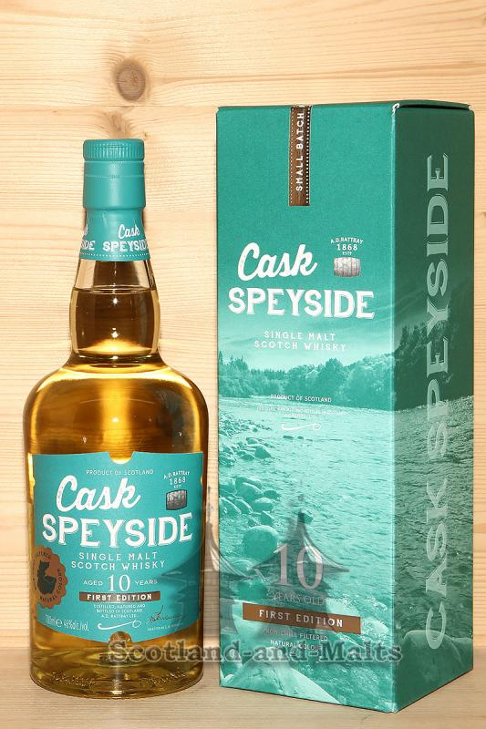 Cask Speyside 10 Jahre - single Malt scotch Whisky von A.D.Rattray