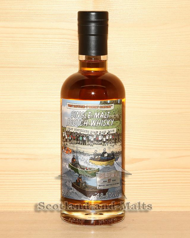 Islay #4 - 11 Jahre Batch 1 mit 48,8% von That Boutique-y Whisky Company
