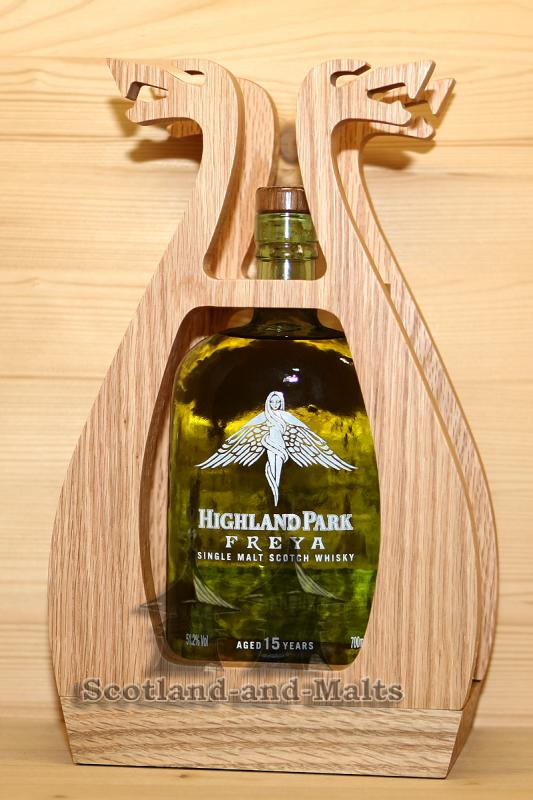 Highland Park Freya - 15 Jahre single Malt scotch Whisky mit 51,2%