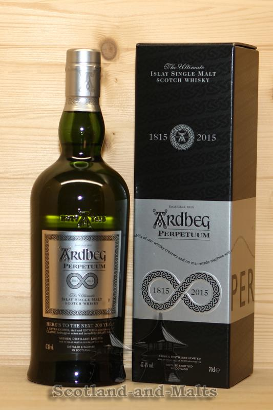 Ardbeg Perpetuum 2015 - Islay single Malt scotch Whisky