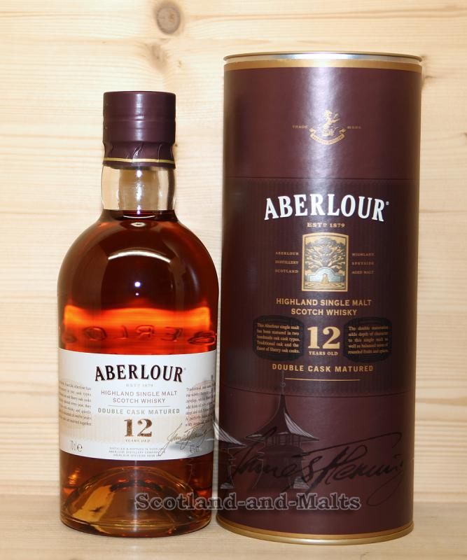 Aberlour 12 Jahre Double Cask Matured - Highland Single Malt scotch Whisky / Sample ab