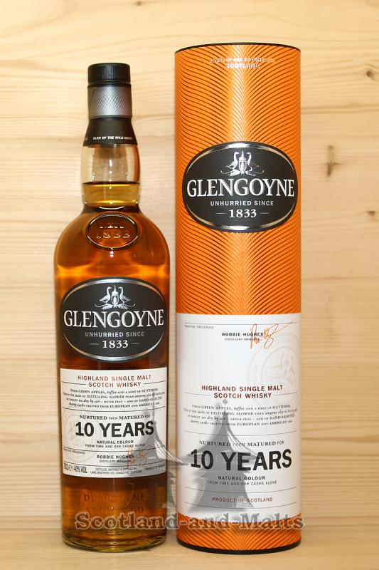 Glengoyne 10 Jahre Highland single Malt scotch Whisky