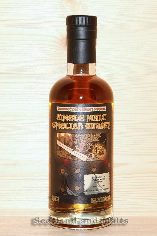 English Whisky Company 8 Jahre - Batch 2 mit 52,3% single Malt Whisky - That Boutique-y Whisky Company