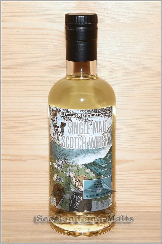 Inchgower 14 Jahre Batch 3 mit 50,5% von That Boutique-y Whisky Company / Sample ab