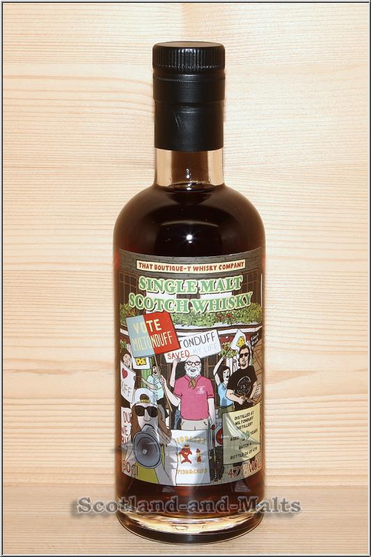 Miltonduff 40 Jahre Batch 4 mit 47,0% von That Boutique-y Whisky Company / Sample ab