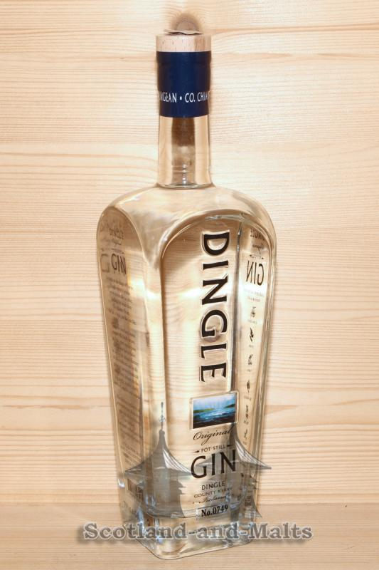 Dingle Original Gin - Pot Still Gin aus Irland mit 42,5% aus der Dingle Distillery