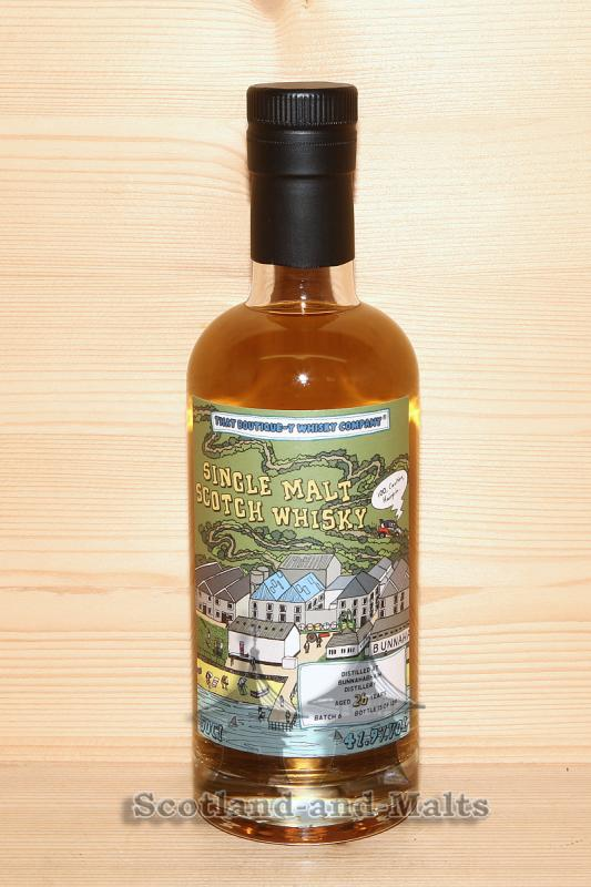 Bunnahabhain 26 Jahre Batch 6 mit 41,9% That Boutique-y Whisky Company