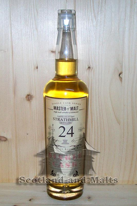 Strathmill 1990 - 24 Jahre Sherry Butt 55,6% - Master of Malt Single Cask Bottlings