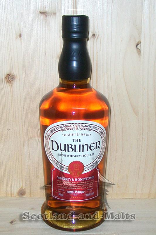 The Dubliner Whisky and Honeycomb - irischer Whiskey Likör