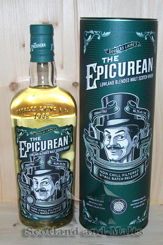 Epicurean Lowland Blended Malt Scotch Whisky - Douglas Laing