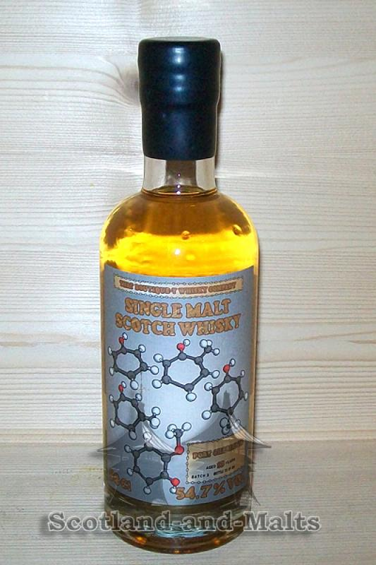 Port Charlotte 13 Jahre - Batch 2 mit 54,7% That Boutique-y Whisky Company