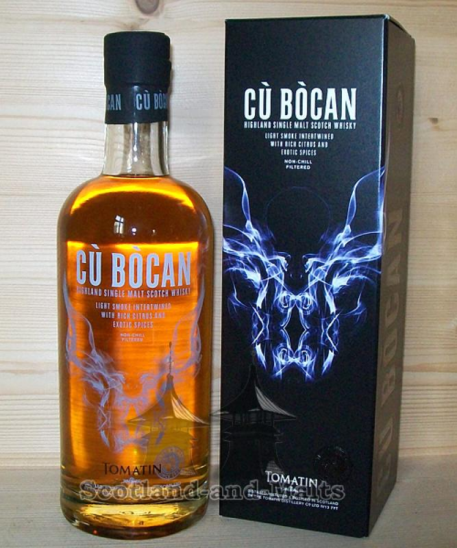 Tomatin Cu Bocan -  Highland single Malt scotch Whisky