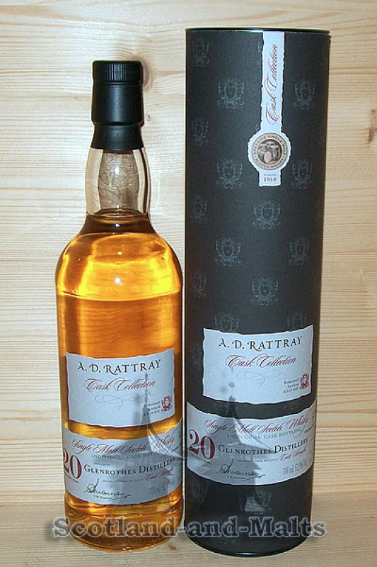 Glenrothes 1996 - 20 Jahre Bourbon Hogshead No. 16 - A.D. Rattray