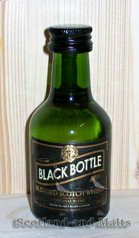 Black Bottle - Miniatur