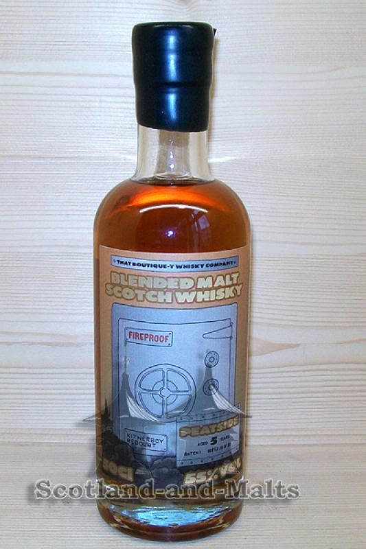 Peatside 5 Jahre - Batch 1 mit 55,0% That Boutique-y Whisky Company / Sample ab