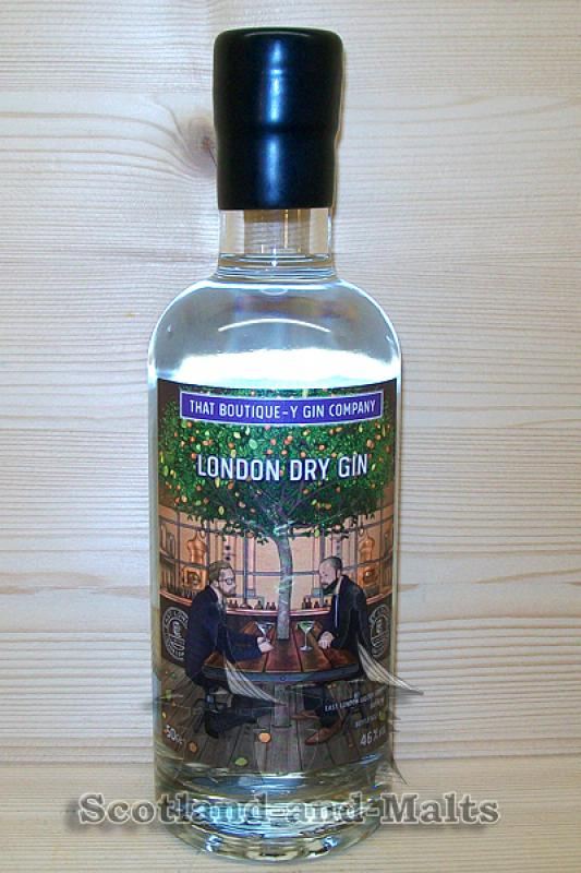 Hernö London Dry Gin Batch 1 mit 46,2% - That Boutique-y Gin Company